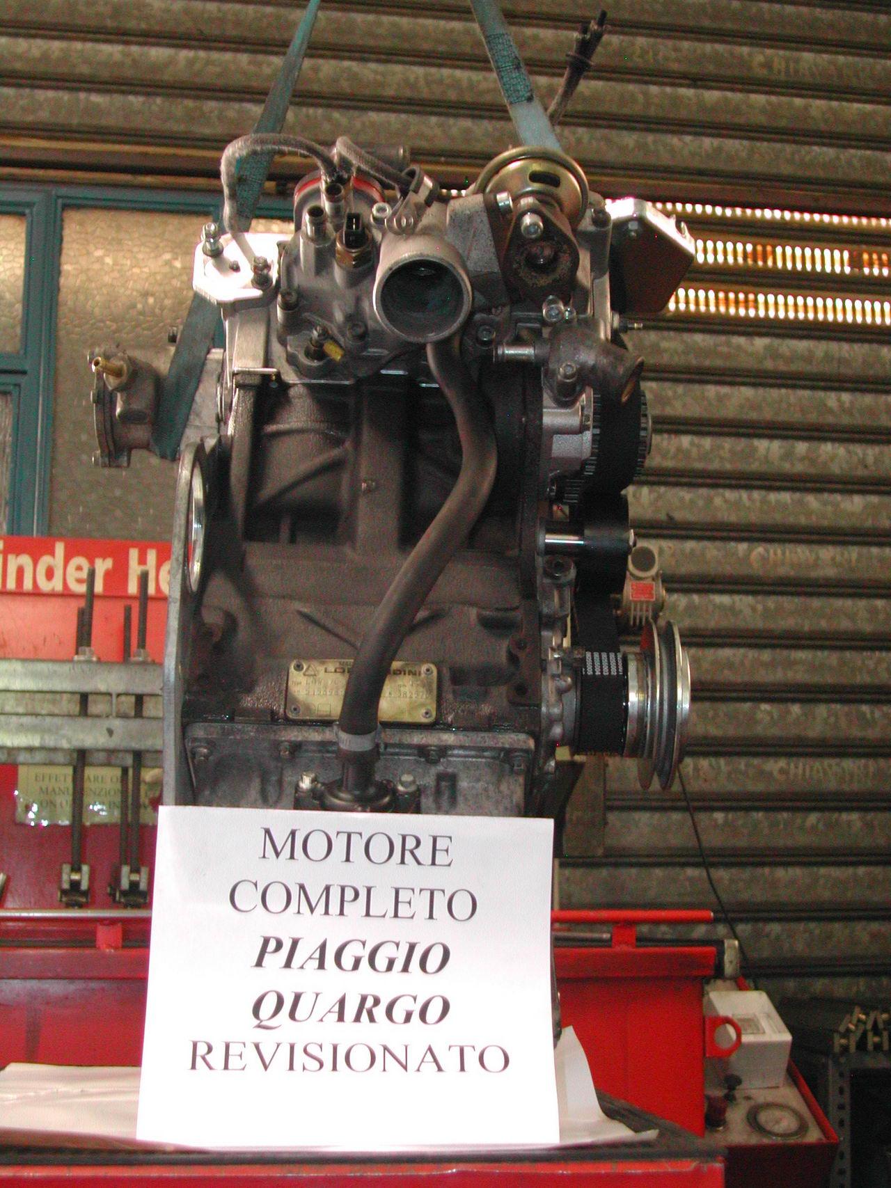 Schema motore quargo